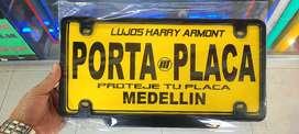Porta placas carro