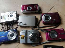 Cámaras digitales diversas Panasonic Sony Casio desde 6 8 10 12 megapíxeles