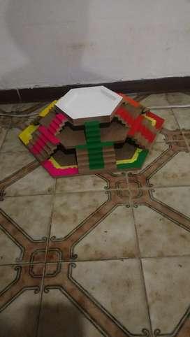Juego de mesa parques en relieve