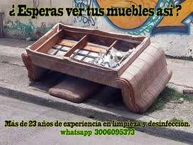 LAVADO DE MUEBLES, COLCHONES, ALFOMBRAS.    BOGOTA