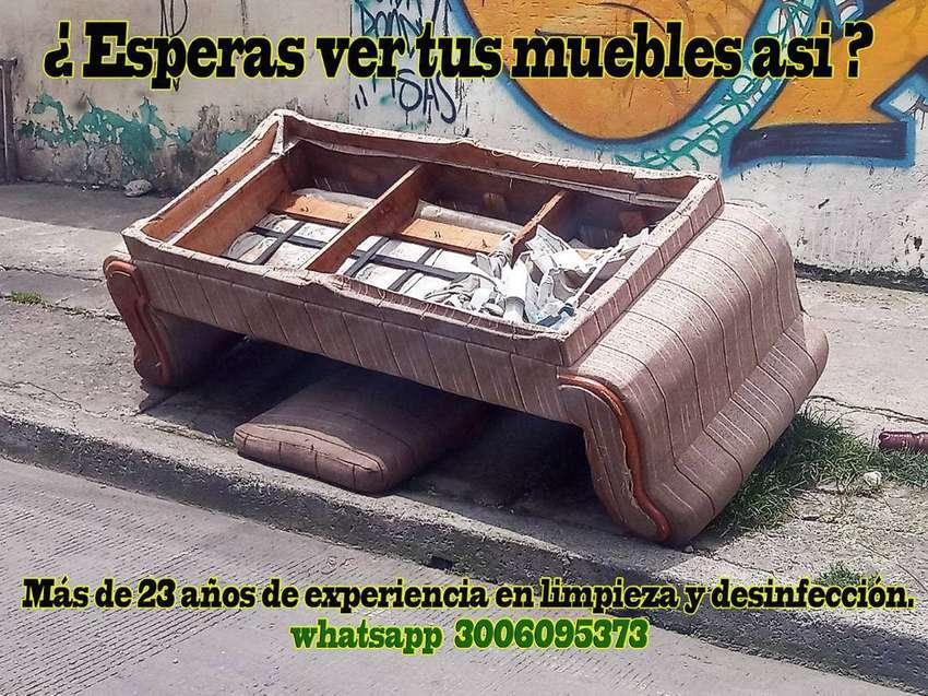 LAVADO DE MUEBLES, COLCHONES, ALFOMBRAS.    BOGOTA 0