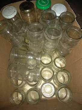 60 frascos de mermelada por 900