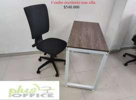 Combo de sillas + escritorio