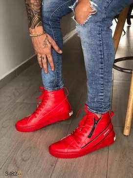 Zapato Bota Botin Diesel Para Hombre