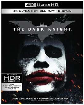 BLU RAY 4K ULTRA HD THE DARK KNIGHT BATMAN OFICIAL NUEVO SELLADO 3 DISCOS 2020