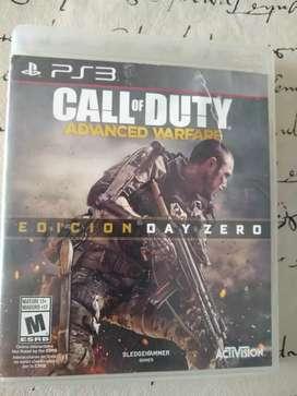 Call of duty warefare advanced juego ps3 fisico