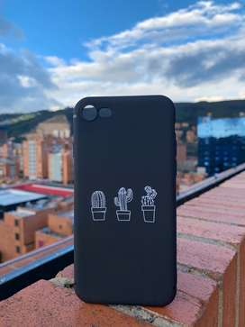 Case iPhone 7/8, X/xs - Cactus