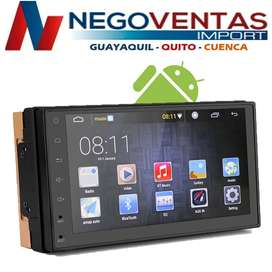 RADIO PANTALLA ANDROID SLM DE 7 PULGADAS BLUETOOTH USB SD AUX