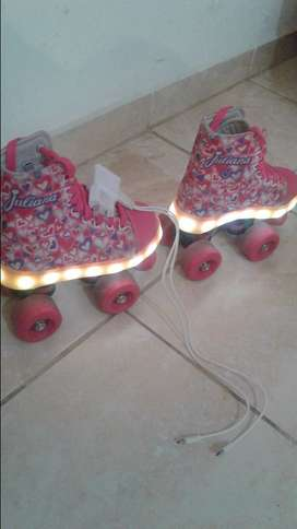 Patines juliana con luces