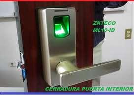 Cerradura Puerta Interior Zkteco Ml10id Huella Digital IVA INCLUIDO