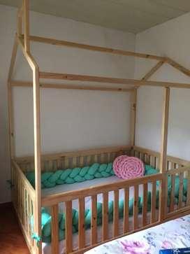 Vendo cama cuna como nueva