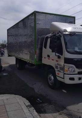 Alquiler foton furgon 6 toneladas