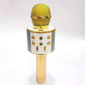 Micrófono Karaoke Infantil Con Parlante Integrado
