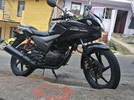 moto honda cbf 125, modelo 2012, negociable