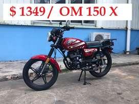 MOTO TIPO BERA/ OM150X/ OROMOTO/ MONICA CHIMASA