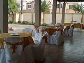 Alquiler de todo para eventos, sillas, mesas, mnteleria, vajilla etc