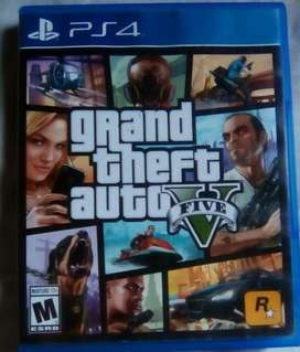 Vendo o cambio GTA V Ps4 funciona 100%