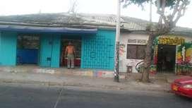 Se vende casa de esquina para negocio