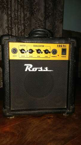 VENDO AMPLIFICADOR ROSS 10 G. EXCELENTE ESTADO!!!