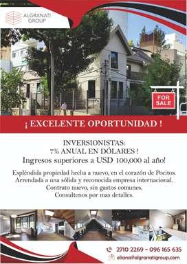 Oportunidad en Montevideo Inmueble de alta rentabilidad