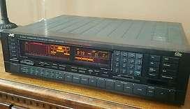 Sintoamplificador JVC RX500 Super A potencia 2x100wrms/canal.con control remoto,en perfecto estado de funcionamiento