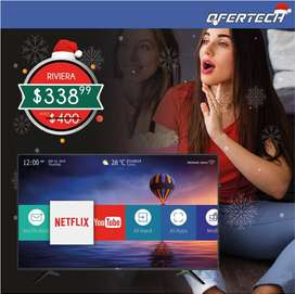 Smart tv Riviera de 43 pulgadas UHD 4K