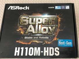 Vendo Asrock Motherboard Intel H110m-hds 1151 Ddr4 Dvi/hdmi