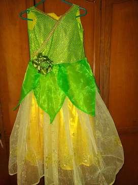 Disfraz de Princesa y el sapo Talla 10