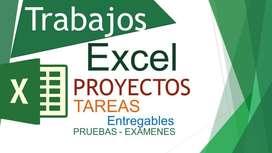 EXCEL CLASES, TRABAJOS Y CONSULTAS A DOMICILIO