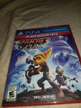 Vendo Juego de Ps4 Ratchet Clank