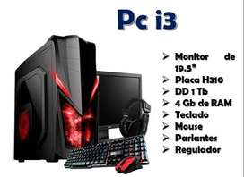 Pc Core i3 / 8va Generación