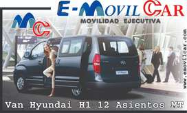 ALQUILER MINIVAN HYUNDAI H1  RENT A CAR
