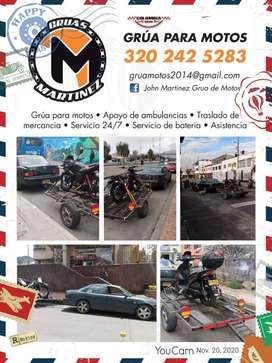 servicio de Grua para motos