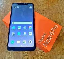 Xiaomi note 6 pro vendo o permuto por menor y diferencia