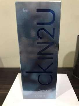 Perfume CKIN2U Nuevo Para Hombre
