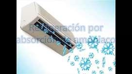 Servicio tecnico Aire acond y otros equipos de refrigeracion