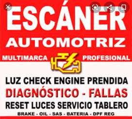 Servicios de escáner automotriz