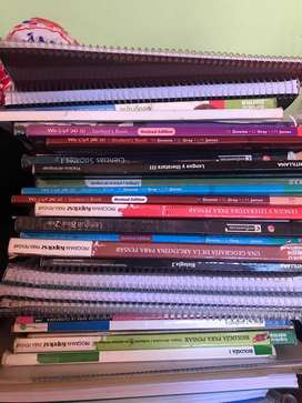Vendo libros originales. De primaria a secundaria