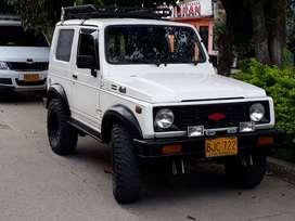 Se vende Chevrolet Samurai HARDTOP 1997 Motor 1300.c.c SOAT y tecnomecanica hasta marzo /21 impuestos al día listo para
