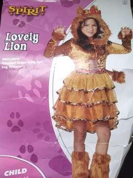 Disfraz nuevo para niña de 4 a 6 años
