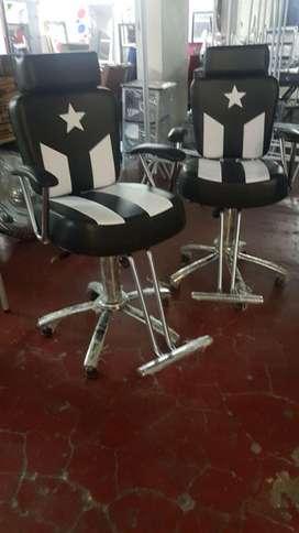 Sillas barberia...garantizadas