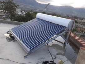 Calentador de agua solar  instalación Reparación Mantenimiento Electricidad