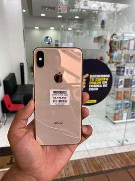 Iphone xs max usado con fisura en la tapa