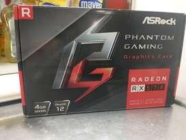 RX 570 ASROCK NUEVA 4GB GDDR5RX 570