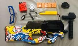 Arma electrica lanza biogemas
