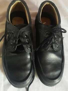 Zapatos Cuero Vacuno Niño