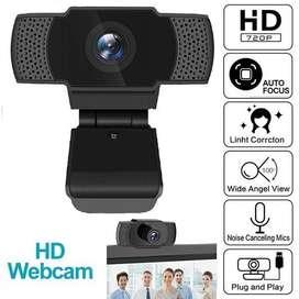 WebCam HD720/108p con microfono