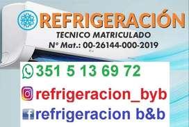 TECNICO MATRICULADO EN REFRIGERACION
