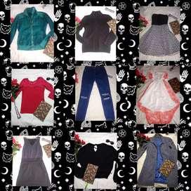 Lote de ropa dama segunda mano