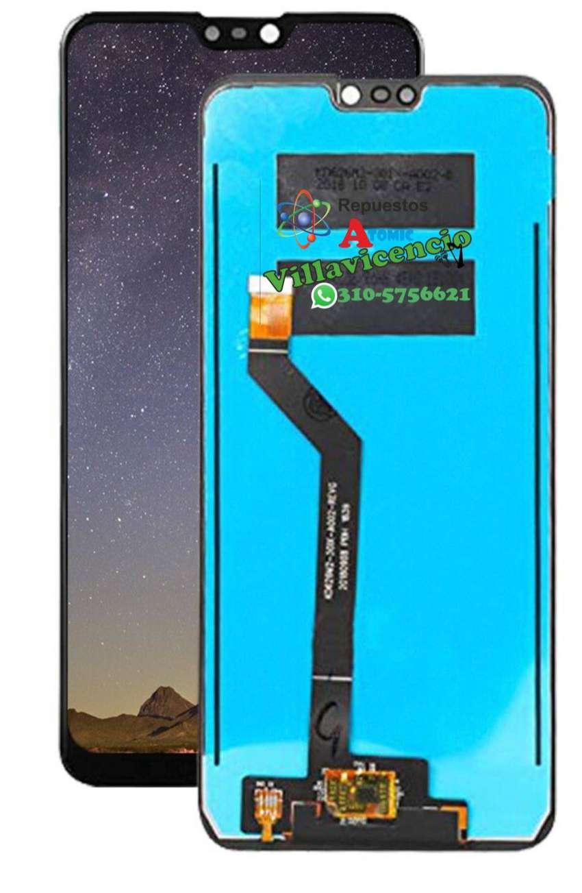 Display Zenfone Max M2 Pro/X01BDA/Negro  / Repuestos Atomic Villavicencio